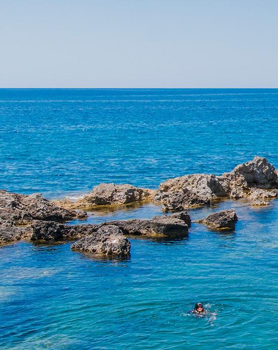 Rocky Beach Peter's Pool Malta's Best