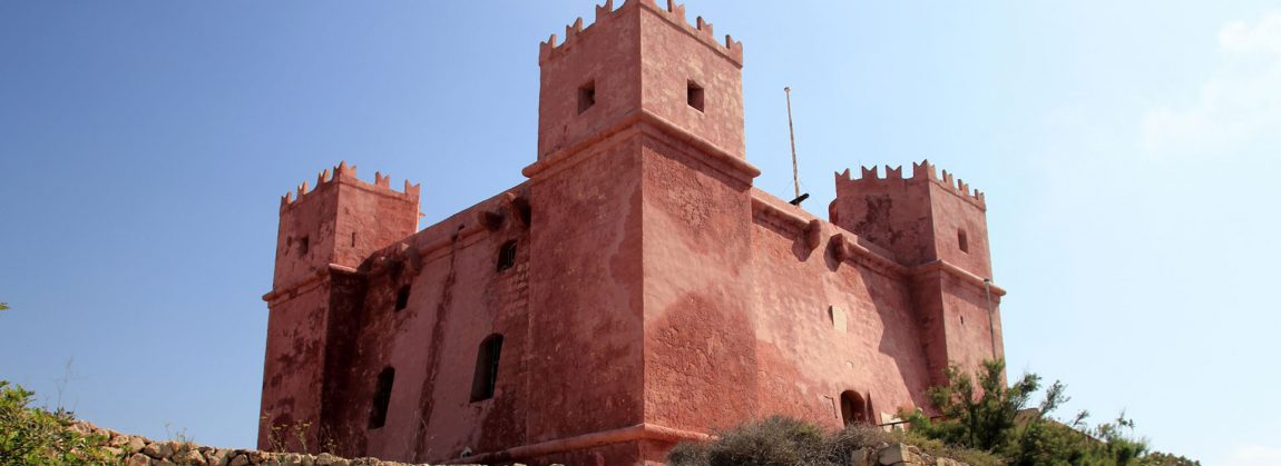 red-tower-malta-north